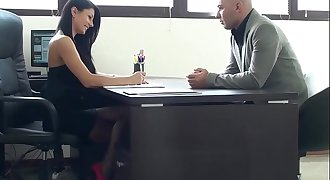 Sofia Cucci banged like a bitch in the desk office