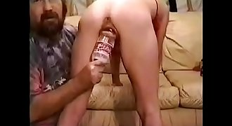 Using my stupid submissive wife