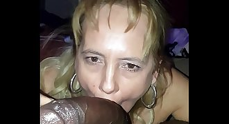 white hooker blows Me in my hotel