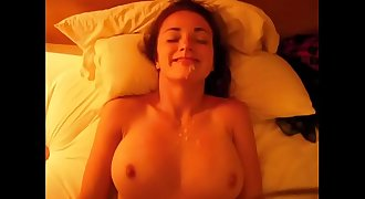 FamilyFlings.com - Old Creepy Uncle Cums All Over His Niece Tits