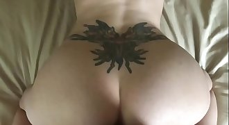MILF HotWife BlowJob and Doggy Fuck PART1-watch PART2 on MilfOnHorny.com