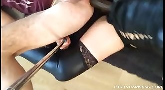 girl with Dirty strapon fucks her man live on DIRTYCAMS666.COM