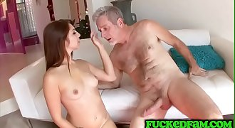 Happiest day of stepdads life getting to put his big dick in Ariana Grand
